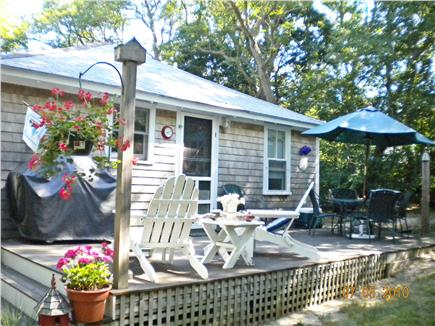 Eastham Cape Cod vacation rental - Paradise on the back deck