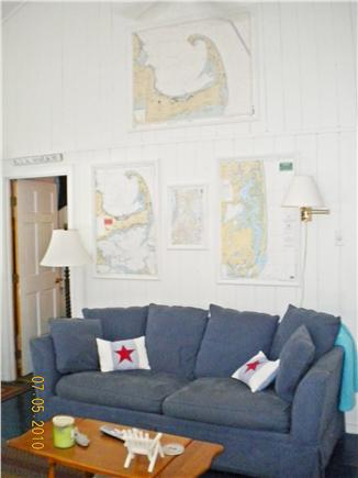 Eastham Cape Cod vacation rental - Livingroom another view