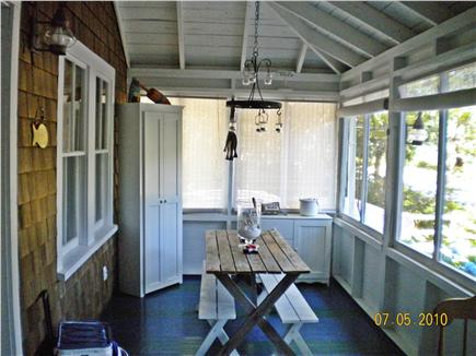 Eastham Cape Cod vacation rental - Front Porch