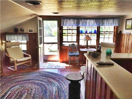 Eastham Cape Cod vacation rental - Front door in living room