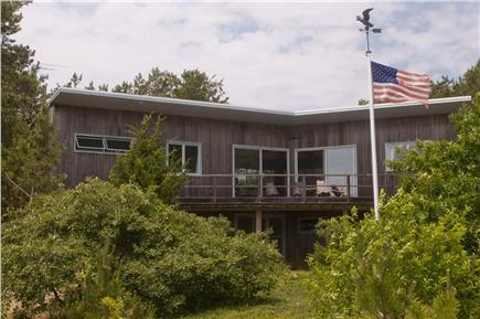 Wellfleet Cape Cod vacation rental - Front of the house, reverse of picture #1