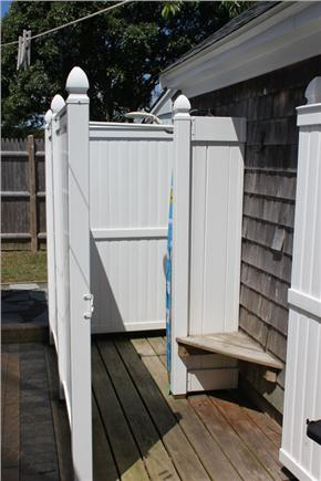 Harwich Port Cape Cod vacation rental - Outdoor Shower