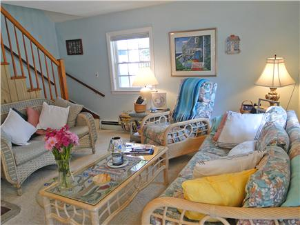 Harwich near restaurants, shopping, and deep sea fishing, also located near ferry to Nantucket Cape Cod vacation rental - Great area for reading for watching a movie