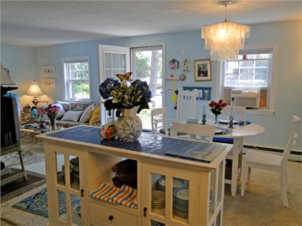 Harwich near restaurants, shopping, and deep sea fishing, also located near ferry to Nantucket Cape Cod vacation rental - Open floor plan, great for being together