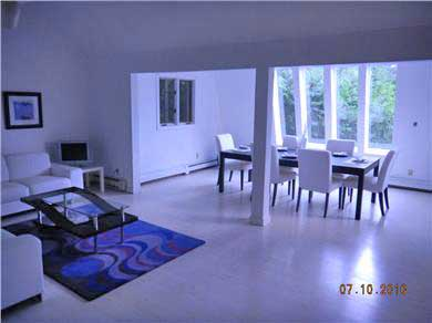 East Sandwich- West Barnstable Cape Cod vacation rental - View from living room to dining room