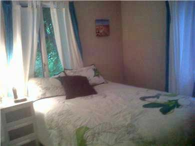East Sandwich- West Barnstable Cape Cod vacation rental - Bedroom #1 with Queen size bed - lots of closet space and TV