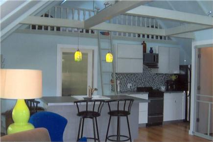 Harwichport Cape Cod vacation rental - Enjoy your morning coffee at the kitchen breakfast bar