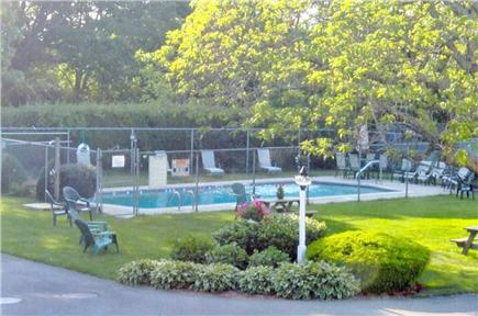 Harwichport Cape Cod vacation rental - Pool and lavish garden