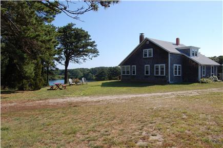 Eastham Cape Cod vacation rental - Side Yard