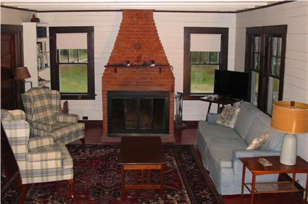 Eastham Cape Cod vacation rental - Living Area with water views