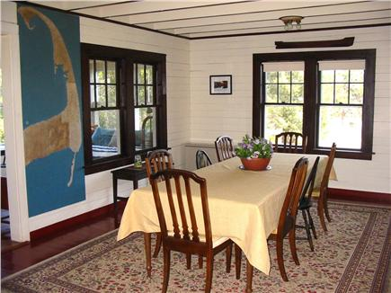Eastham Cape Cod vacation rental - Dining Area with water views