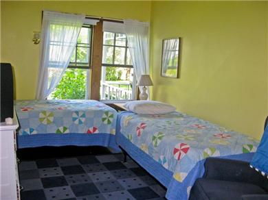 Plymouth, Manomet Bluffs MA vacation rental - One of the two 1st floor bedrooms ..