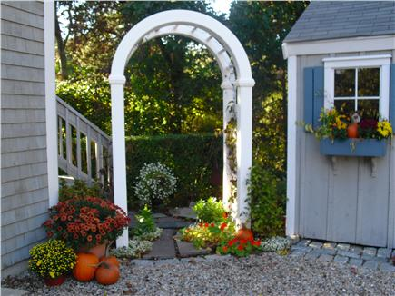 Chatham Cape Cod vacation rental - Guest Suite Entranceway - Arbor and Staircase