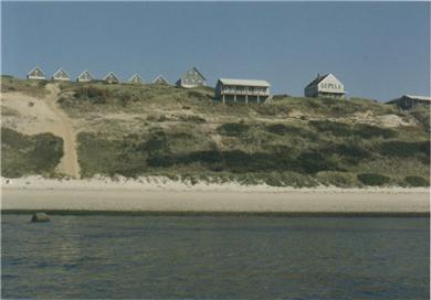 Truro Cape Cod vacation rental - Corn Hill from the Bay