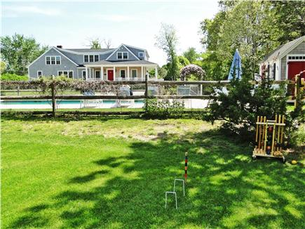 Dennis Port Cape Cod vacation rental - Rec area for wiffle ball, volley ball, croquet, bocce, all incl.