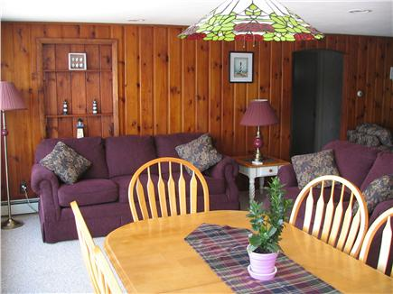 Harwich Cape Cod vacation rental - Dining /Sitting Area with great view of Seymour Pond