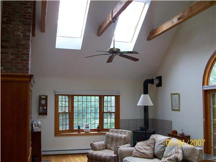 North Eastham Cape Cod vacation rental - Family Room with Cathedral Ceiling