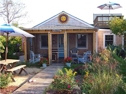 Eastham Cape Cod vacation rental - BLUE SKIES ON THE HALF SHELL…where vacation memories begin!