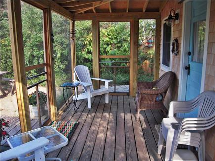 Eastham Cape Cod vacation rental - Sunless relaxation in the screened porch