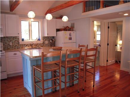Eastham Cape Cod vacation rental - Fully equipped kitchen with island seating for 4