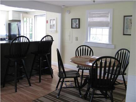 West Dennis Cape Cod vacation rental - Open kitchen and dining area
