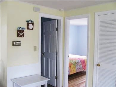 West Dennis Cape Cod vacation rental - Looking toward bathroom and master