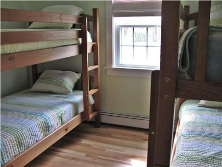 West Dennis Cape Cod vacation rental - 2nd Bedroom with 2 Bunk Beds
