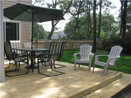 West Dennis Cape Cod vacation rental - Deck Seating Area