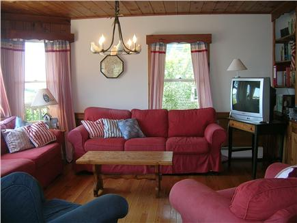 Chatham Cape Cod vacation rental - Living room with water view