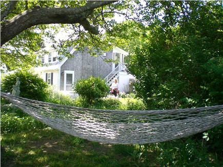 West Yarmouth Cape Cod vacation rental - Relax on the hammock, in the shade