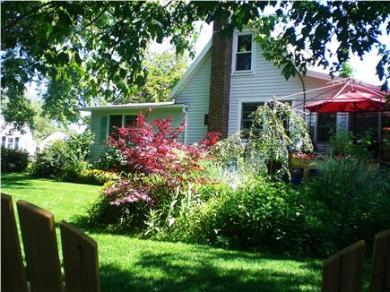 West Yarmouth Cape Cod vacation rental - House view from the garden