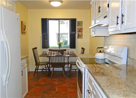 Brewster Cape Cod vacation rental - Smaller dining area in kitchen, great for breakfast