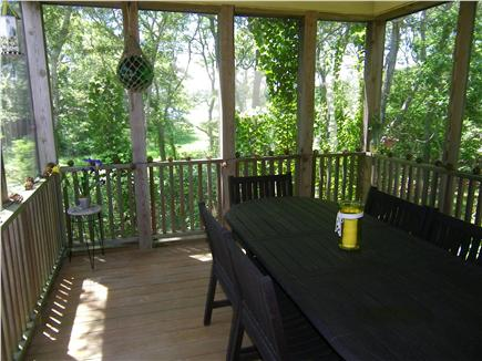 Centerville Centerville vacation rental - Screened-in porch for outside enjoyment
