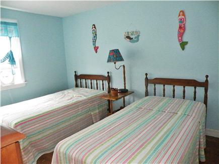 Dennisport Cape Cod vacation rental - Upstairs bedroom w/ two twin beds