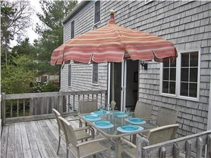 Harwich Cape Cod vacation rental - Large Deck for Barbeques