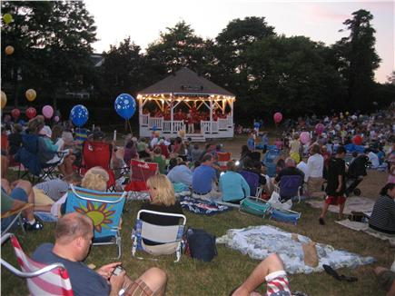 Chatham Cape Cod vacation rental - Friday night band concerts downtown
