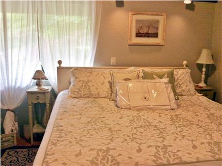 Truro Cape Cod vacation rental - Upper level bedroom with king size bed