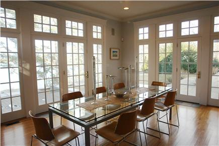 Brewster Cape Cod vacation rental - Dining Room in Main House - seats 12 with extension