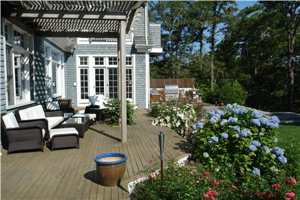 Brewster Cape Cod vacation rental - Rear Deck overlooking Sheep Pond