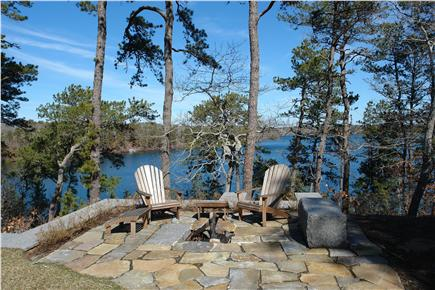 Brewster Cape Cod vacation rental - Fire Pit overlooking Sheep Pond - S'mores anyone?
