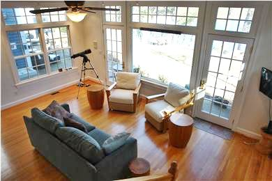 Brewster Cape Cod vacation rental - Guest House Living Room
