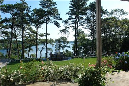 Brewster Cape Cod vacation rental - View from rear deck