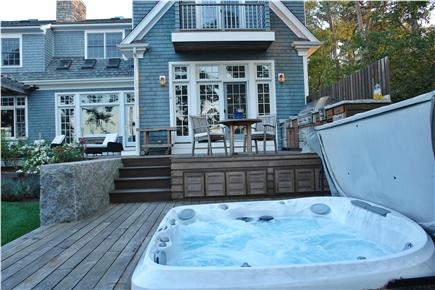 Brewster Cape Cod vacation rental - Hot tub