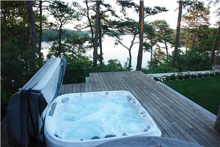 Brewster Cape Cod vacation rental - Hot Tub overlooking Sheep Pond