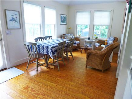 Osterville Osterville vacation rental - Sunny, peaceful dining area.