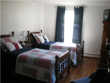 East Falmouth Cape Cod vacation rental - Guest bedroom w/ two twins