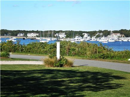 East Falmouth Cape Cod vacation rental - View of Marina from deck