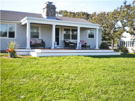 East Falmouth Cape Cod vacation rental - New Ocean Front Deck