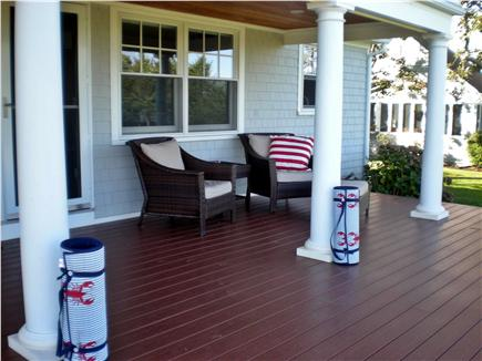 East Falmouth Cape Cod vacation rental - Oceanfront deck