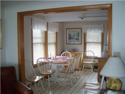 Plymouth ~ White Horse Beach MA vacation rental - Dining Area.